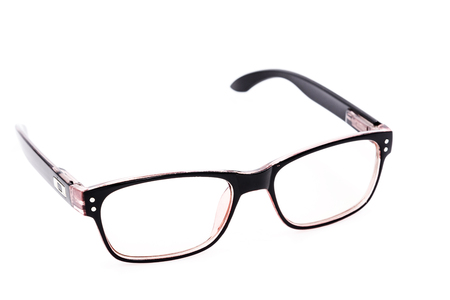 Modern fashionable Glasses isolated on white background