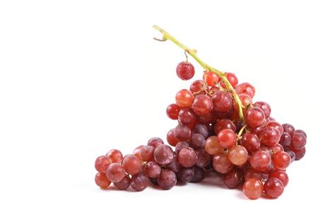 fresh grape on white Stock Photo