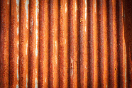 zinc: Rusty on zinc metal plate texture Stock Photo