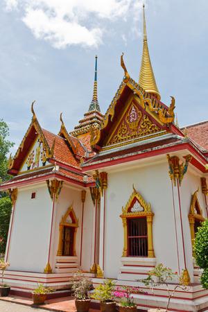 pattani thailand: Wat Chang Hai, uno de los m�s famoso templo en Pattani, Tailandia.