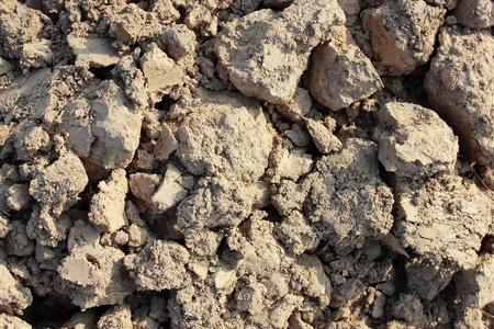 clod: soil background
