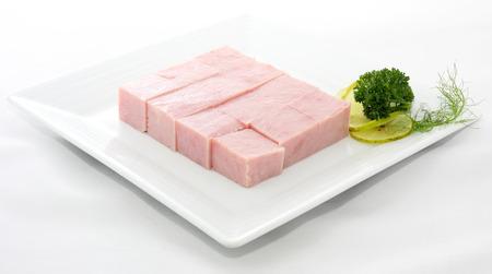 Piece Ham Stock Photo