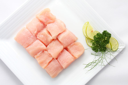 Fresh, raw fish Stock Photo