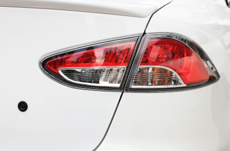 Tail light car  Stock Photo