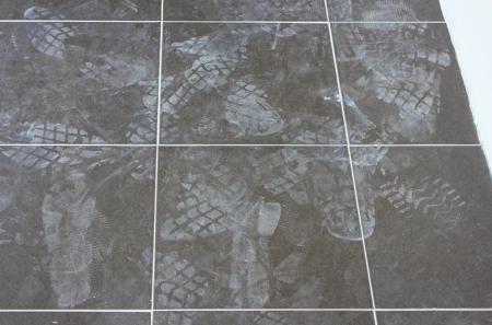 receding: receding footprints
