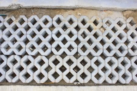 Cement blocks texture