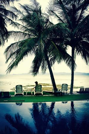 Tropical beach Thailand Stock Photo