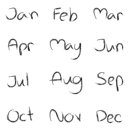 months of the year: Calendar Months of the year