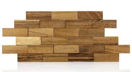 blocks wood game on white background.