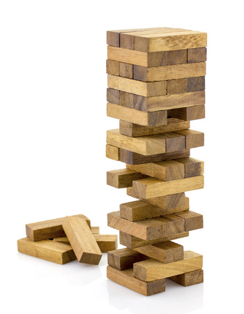 Blocks of wood Game.