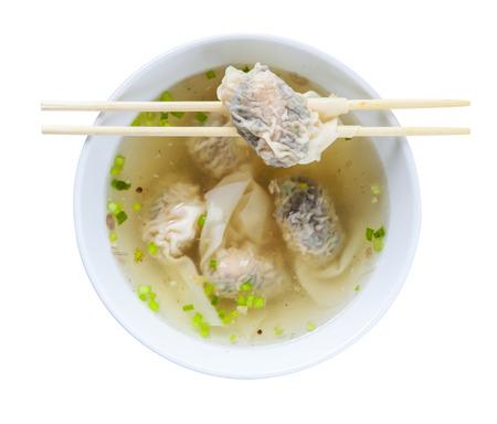 Shrimps Wonton Soup photo