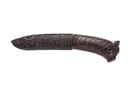 dagger: Vintage Asian Dagger Stock Photo
