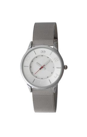 chrome man: Watch Isolated on white background Stock Photo