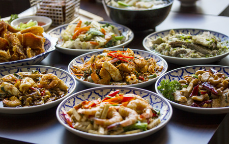 Spicy Thai foods