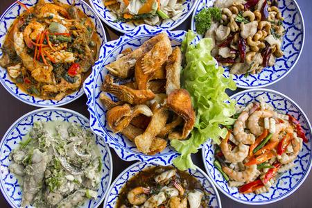 chinesisch essen: Spicy Thai Lebensmittel Lizenzfreie Bilder