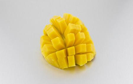 mango slice: mango slice isolated