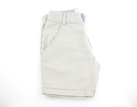 extracted: Kid pants isolated on white background