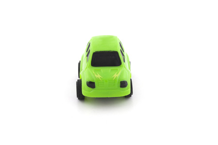 car isolated: toy car isolated on white Stock Photo