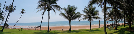 The beautiful tropical beach Stock Photo