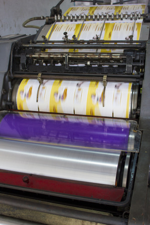 plotting: Large printer format inkjet working