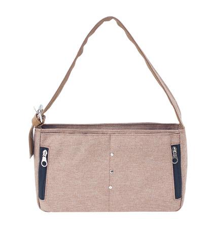 women bag isolated on white background (handbag) Stock Photo