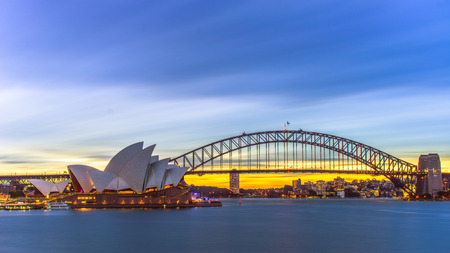sydney: Magic sunset in Sydney