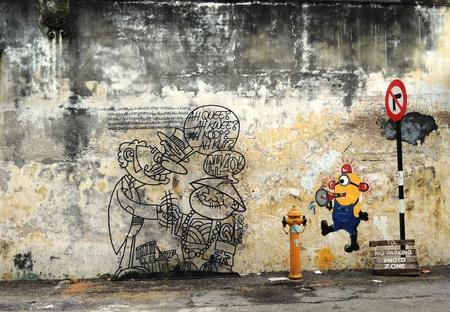 satire: graffiti Editorial