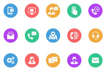 business advice: icon advice flat Illustration