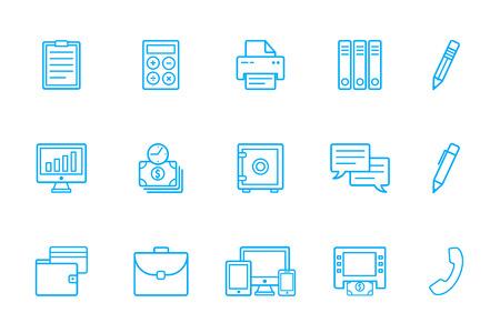 installment: Bank icons