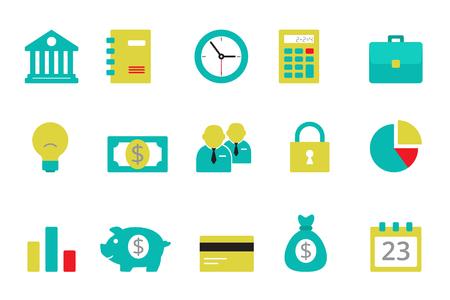 timekeeper: Bank icons