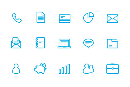 business case: Business icons