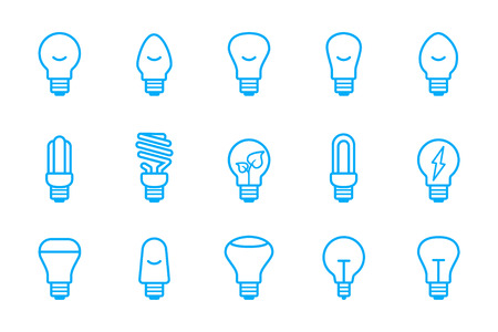 krypton: light bulbs icons