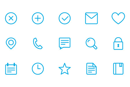 fulfilled: Icons of different, icons office, close icons, add icons, fulfilled icons, letter icons,