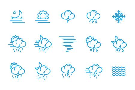meteo: meteo icons