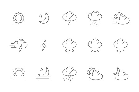 cloudless: meteo icons