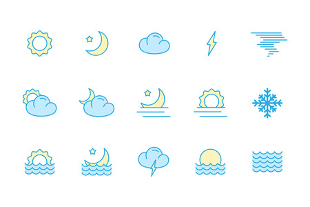 cloudless: weather icons