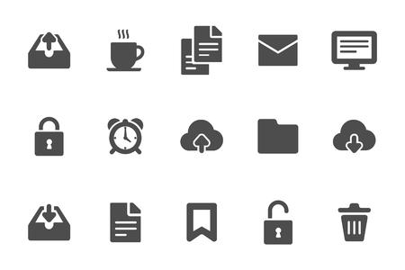 miscellaneous: Miscellaneous icons black