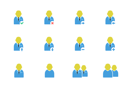people, users icons