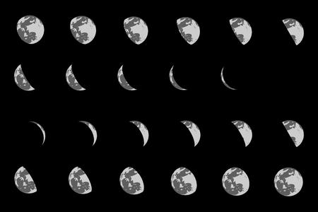penumbra: moon icon flat