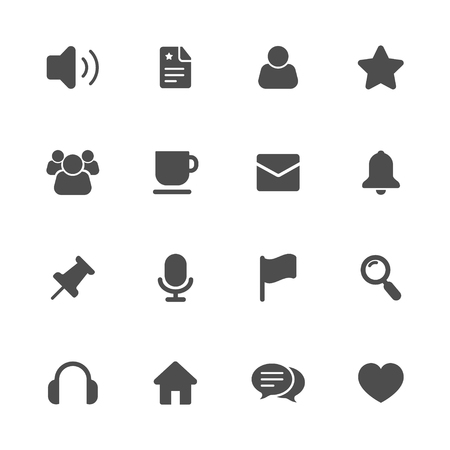 noisiness: Miscellaneous icon Illustration