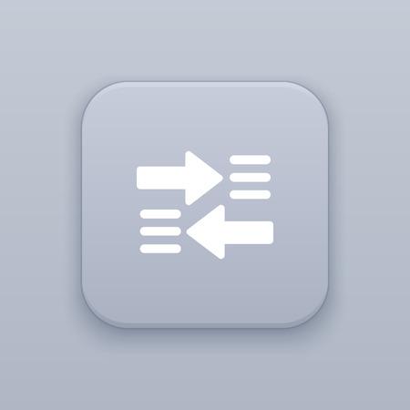 forwarding: Sharing icon, call forwarding icon