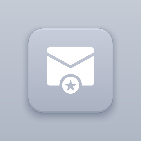favorites: Email vector icon favorites