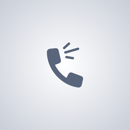 defiance: Talking on the phone vector icon Illustration