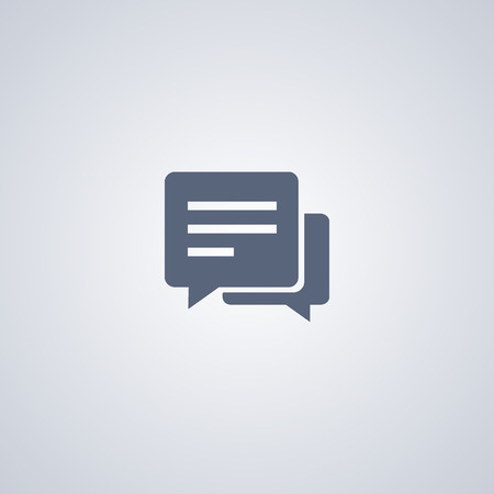 icon: SMS icon, Chat icon