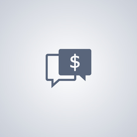 chat: Business chat vector icon