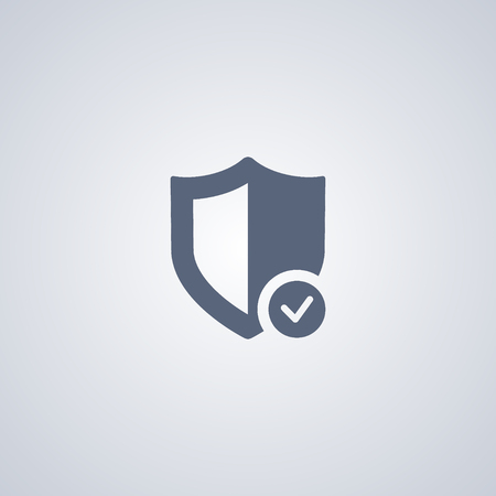 protection icon: Security icon, protection icon
