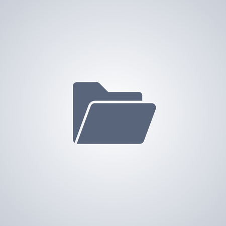 folder icon: Organization icon, folder icon