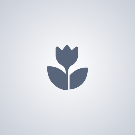 Macro vector icon, flower vector icon Illustration