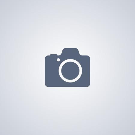Camera vector icon, Photograph vector icon