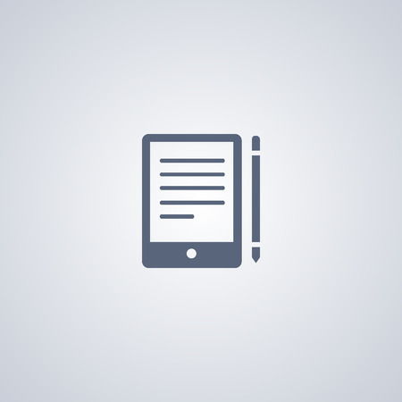 Communication vector icon, Touchscreen vector icon